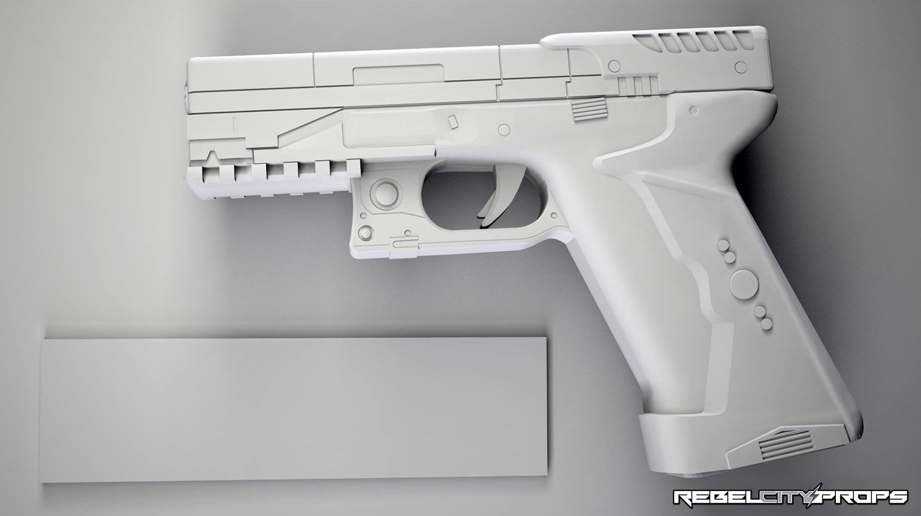 Major S Thermoptic Pistol 2017 Ghost In The Shell Complete Pg 4 Pic Heavy Rpf Costume And Prop Maker Community