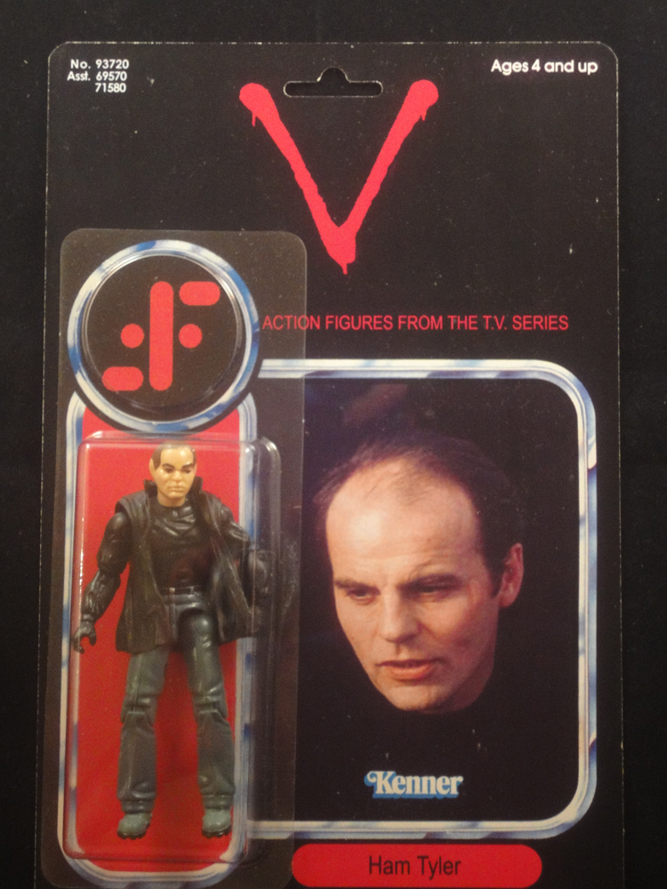 Were there any toys actually released for the Original 80's V tv