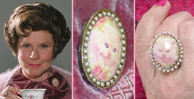 Harry Potter - Umbridge's Brooch and Pin   RPF Costume and
