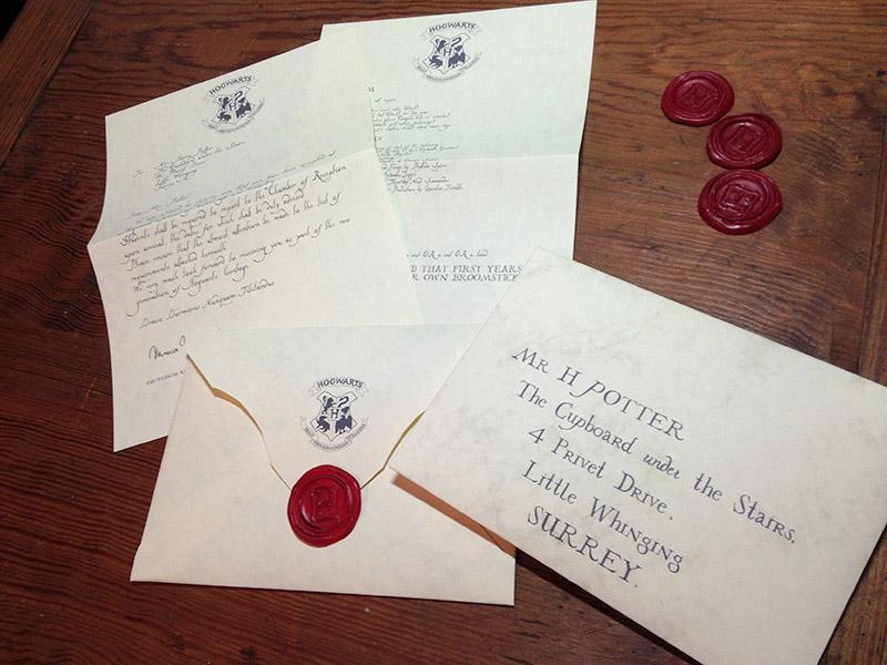 Hogwarts Acceptance Letter Rpf Costume And Prop Maker Community