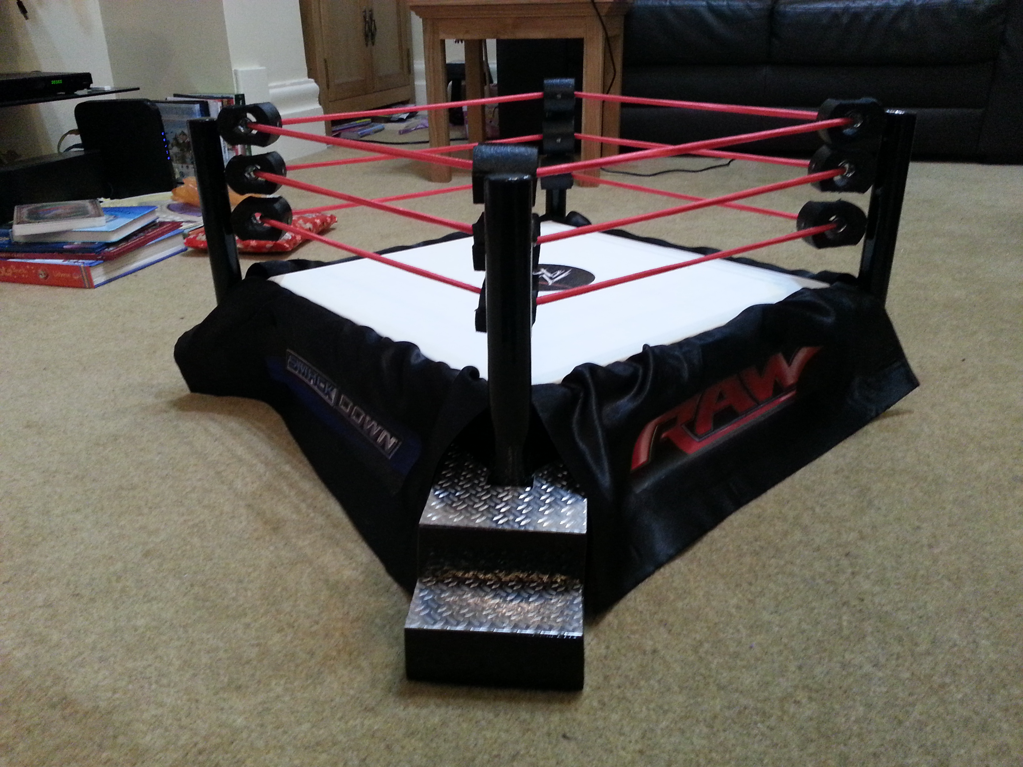 Wwe Wrestling Ring Model Scratch Build Rpf Costume And Prop Maker Community