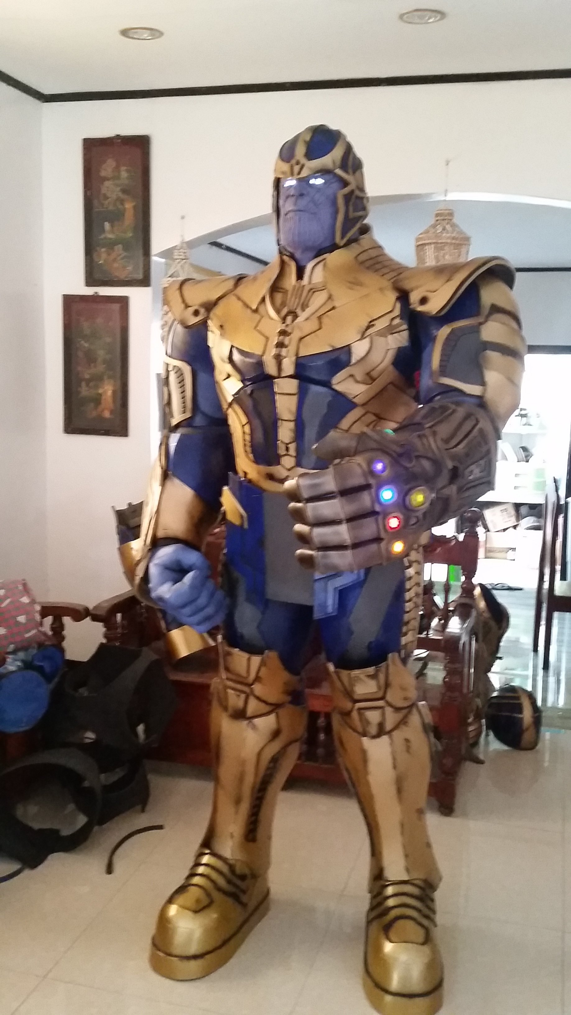 Thanos avengers 1 with sound effects | RPF Costume and Prop