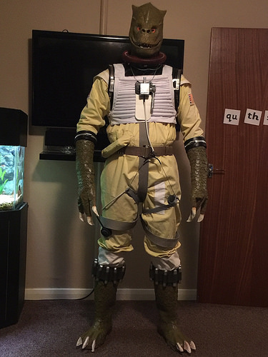 My Home Made Bossk Rpf Costume And Prop Maker Community