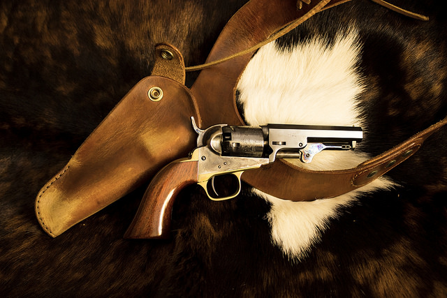 Outlaw Josey Wales Shoulder Holster  My first Replica Prop