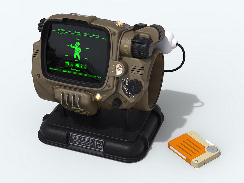 Functional Pip-boy 3000 Mk IV from Fallout 4 | RPF Costume