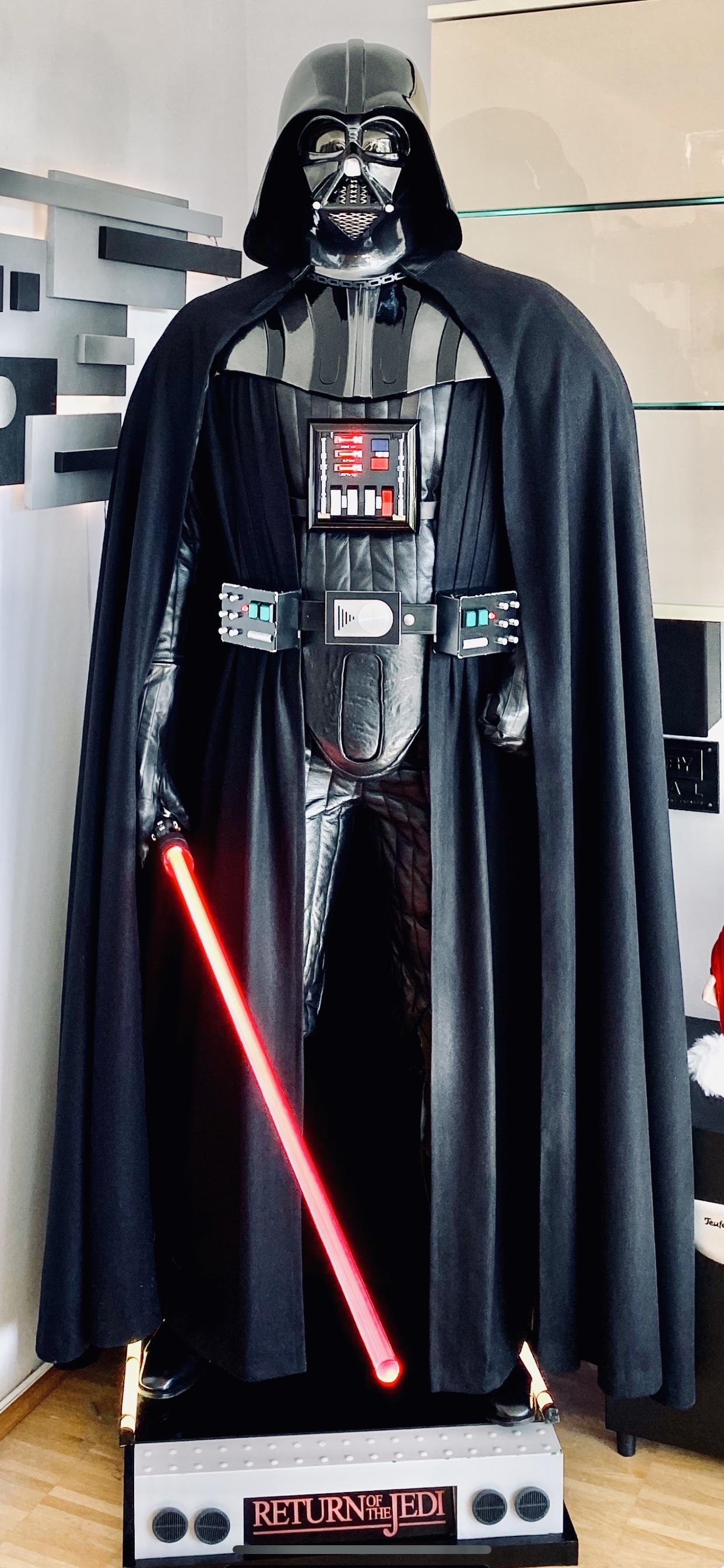 My Lifesize Rotj Darth Vader Statue Final Update Rpf Costume And Prop Maker Community