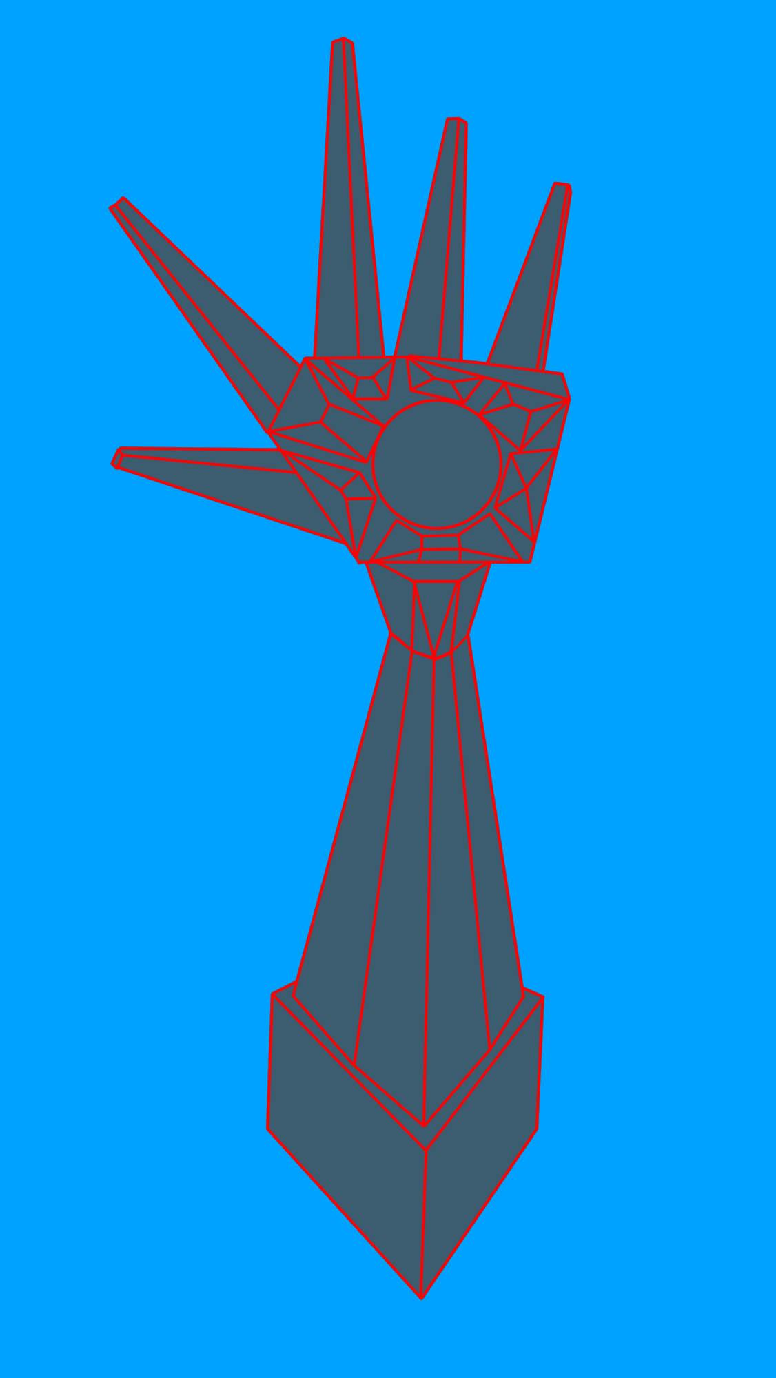 Arcade Hand outlines over blue.jpg