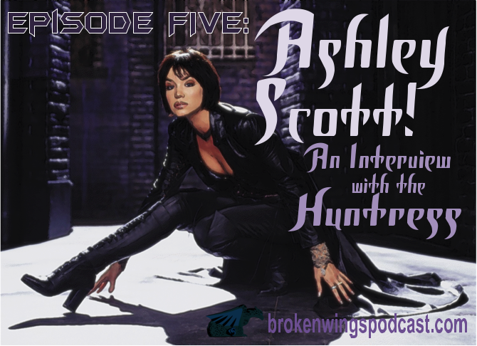My Interview With Birds Of Prey Tv Show Huntress Ashley Scott Rpf Costume And Prop Maker Community