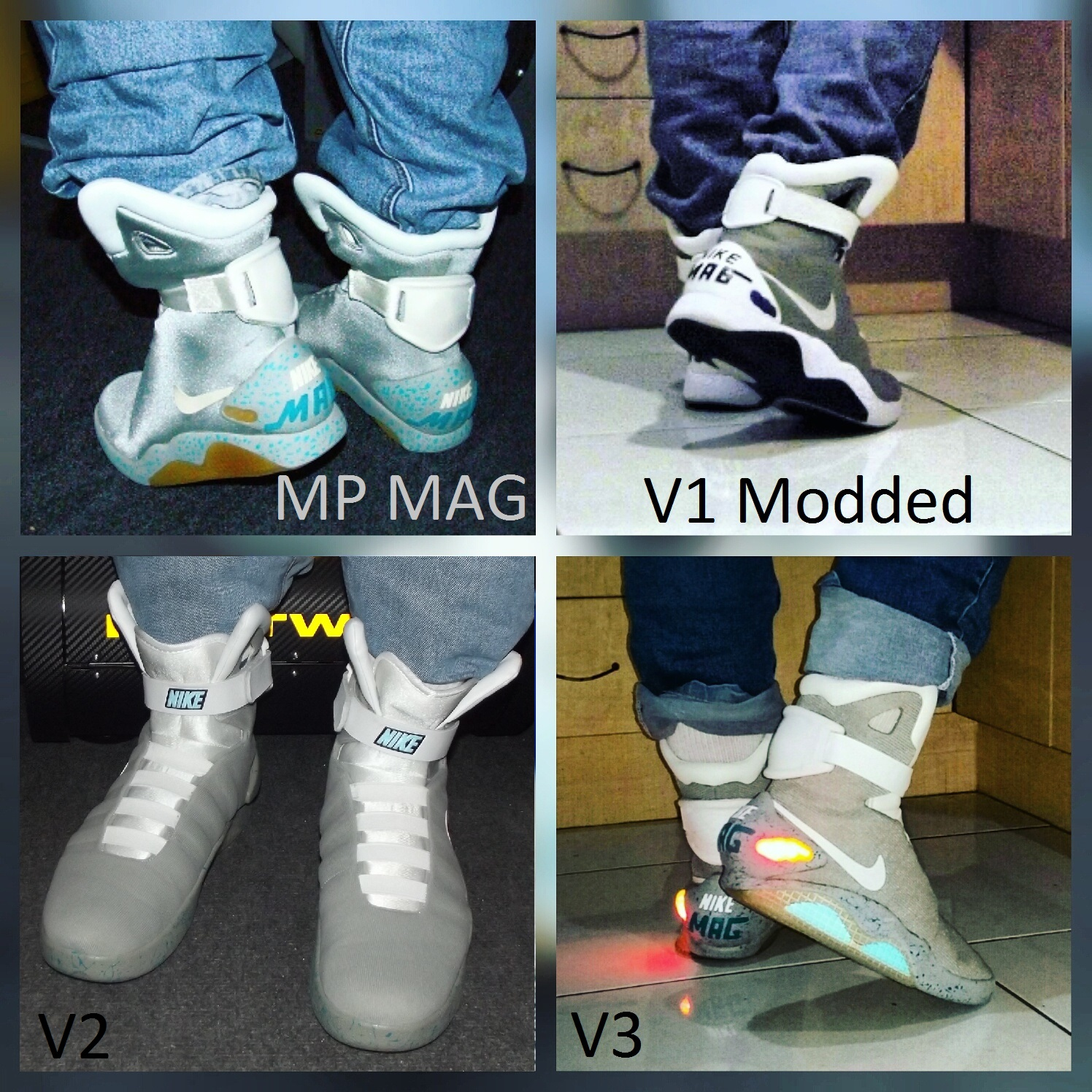 Official V3 Nike Mag Replica Thread V3 Discussion Thread