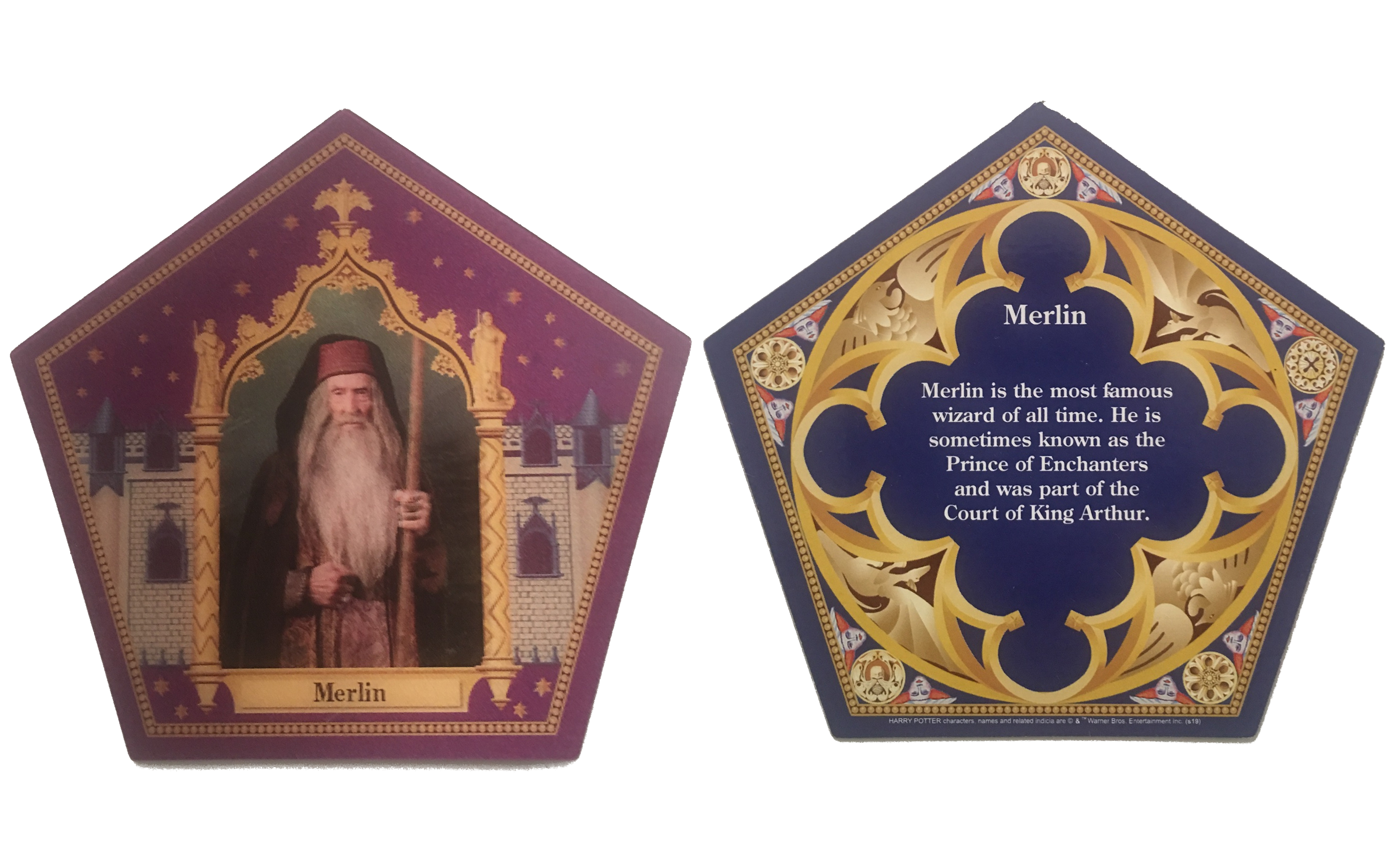 Every Harry Potter chocolate frog cards from Universal Studios Intended For Chocolate Frog Card Template