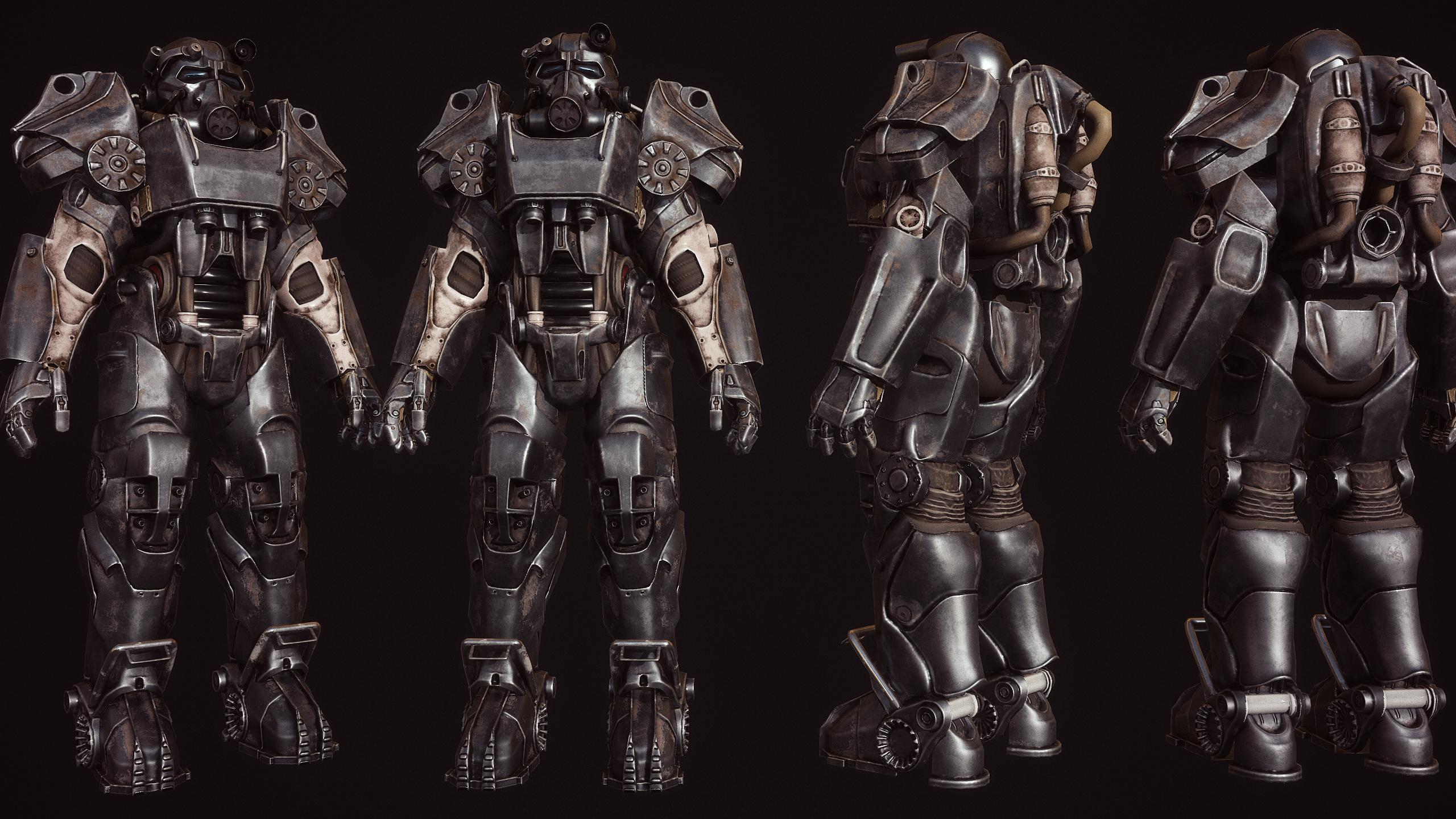 T-60 Power Armor from Fallout 4 , looking for the 3d models!!! | RPF
