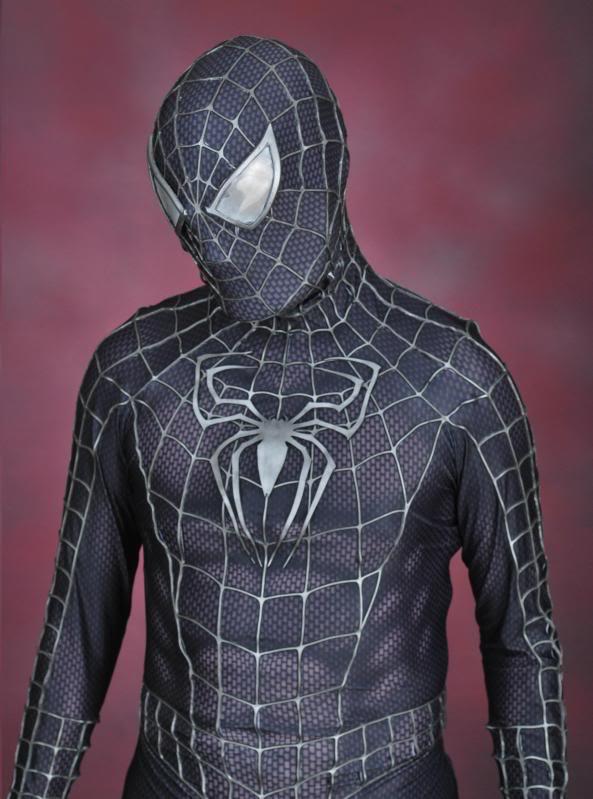 Spider-Man 3 Symbiote movie replica suit RPF Costume and Pro