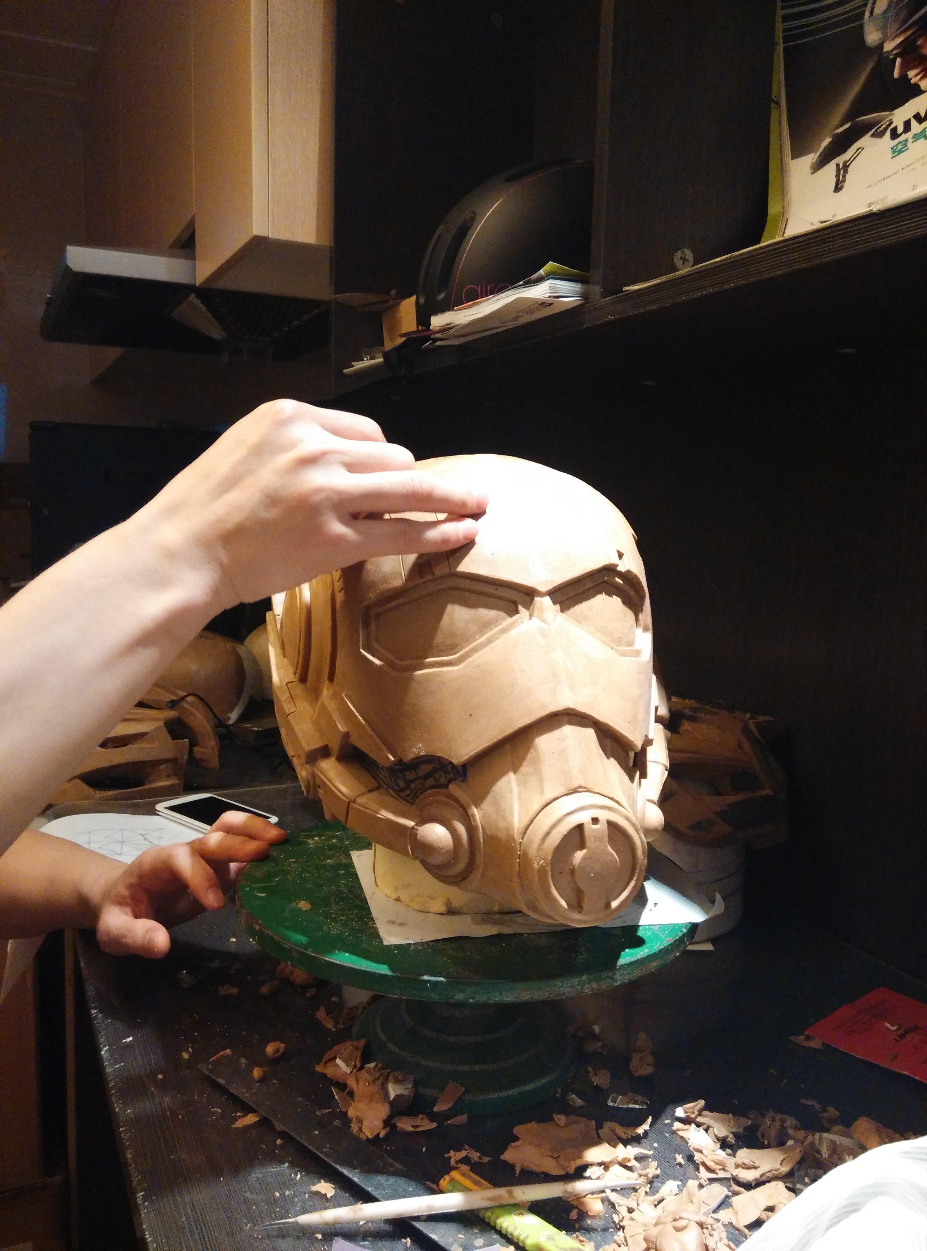 Design And Hand Made 3D Kick-Ass Ant-man Helmet (25).jpg