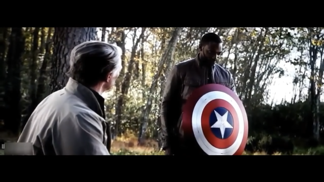 Image result for captain america gives shield to falcon