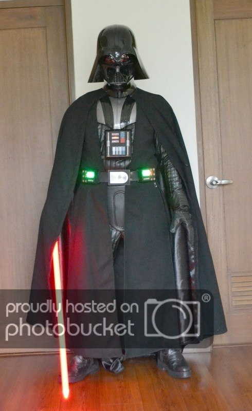 Darth Vader ANH armour set chest shoulders raw unpainted adult size