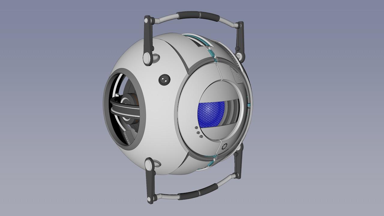 Portal 2, Personality core | RPF Costume and Prop Maker
