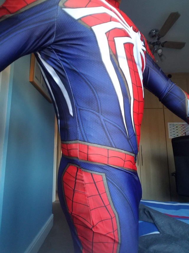 The Amazing Spider Man Ps4 Suit Cosplay Suit First Suit Ever