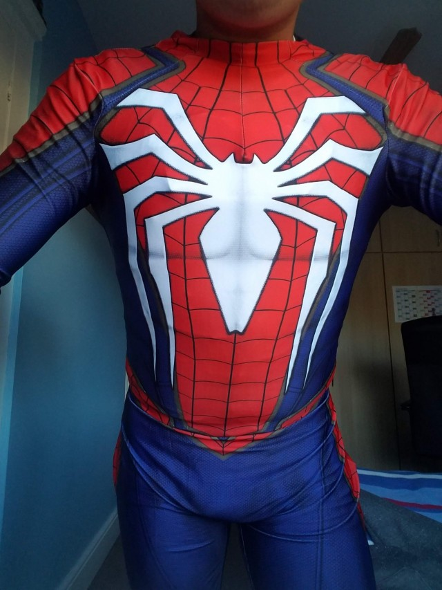 The Amazing Spider-Man PS4 Suit Cosplay Suit (FIRST SUIT EVER