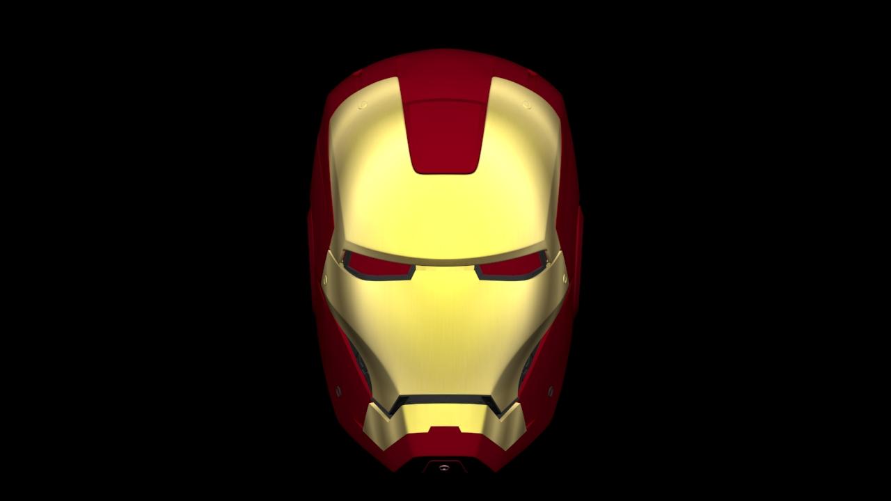 My Iron Man Mark III Helmet 3d Print Files (V3 available in