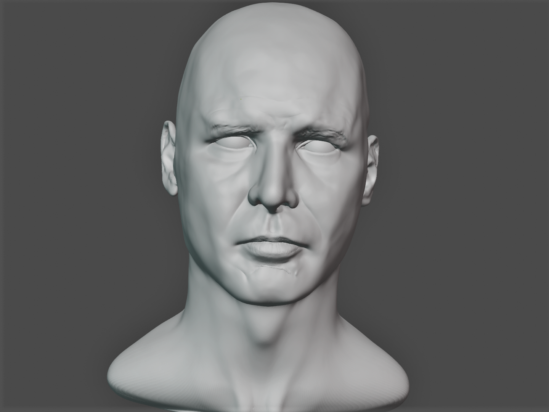 Harrison Ford 3D Progress 18.png
