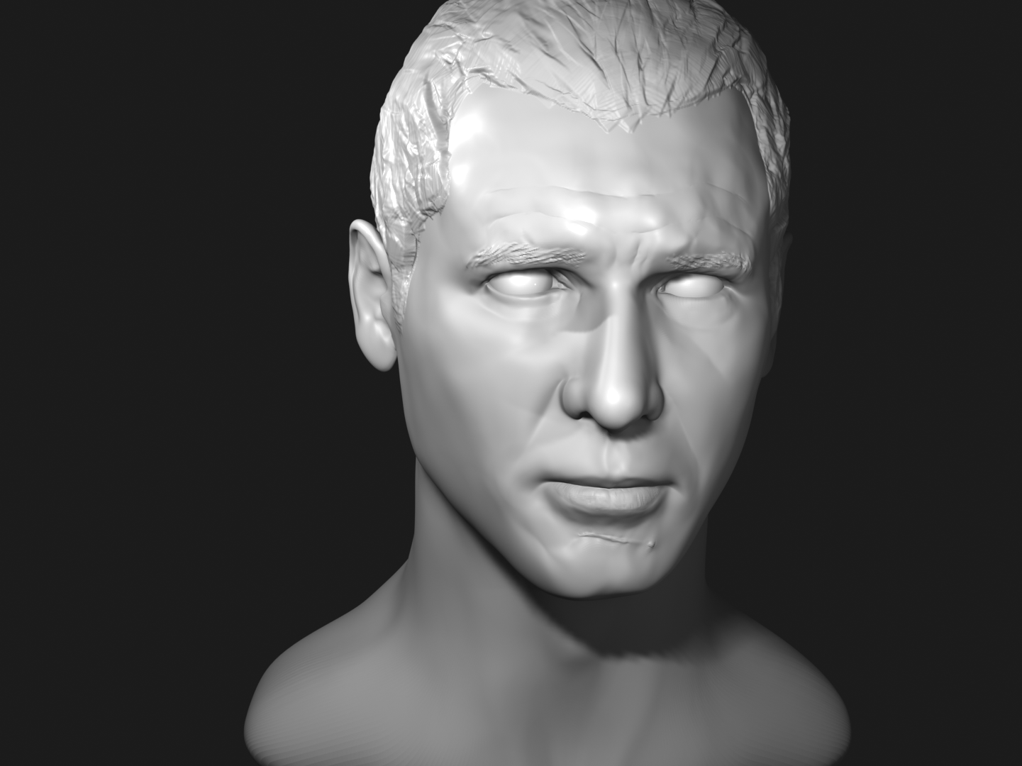 Harrison Ford 3D Progress 32 - Viewport Render.png