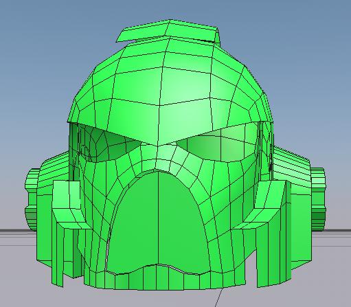 castpixel's space marine build (Warhammer 40K)   RPF Costume