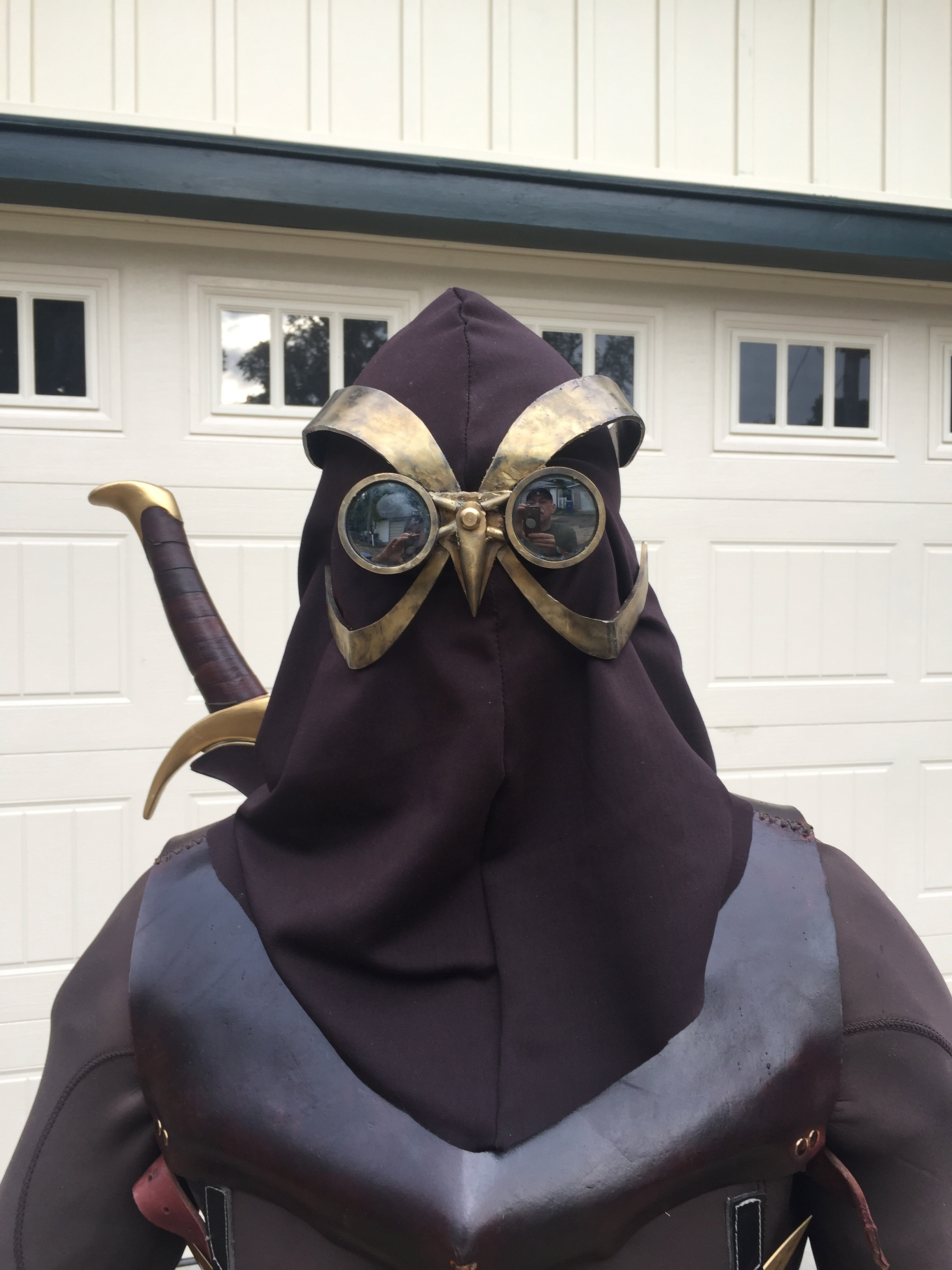 Finished Dc Court Of Owls Talon Cosplay Rpf Costume And Prop Maker Community