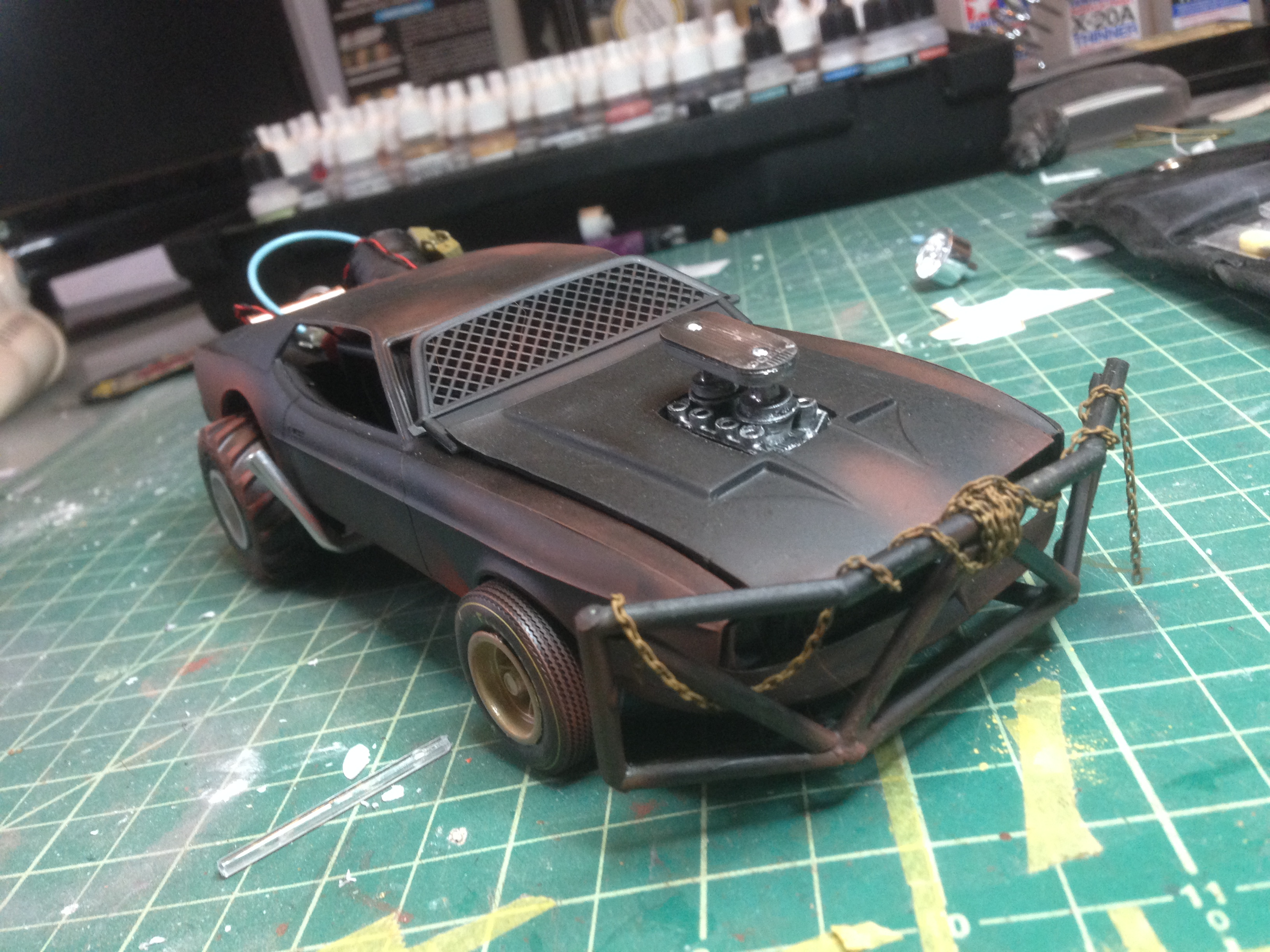 Mad max interceptor scratch build query rpf costume and prop