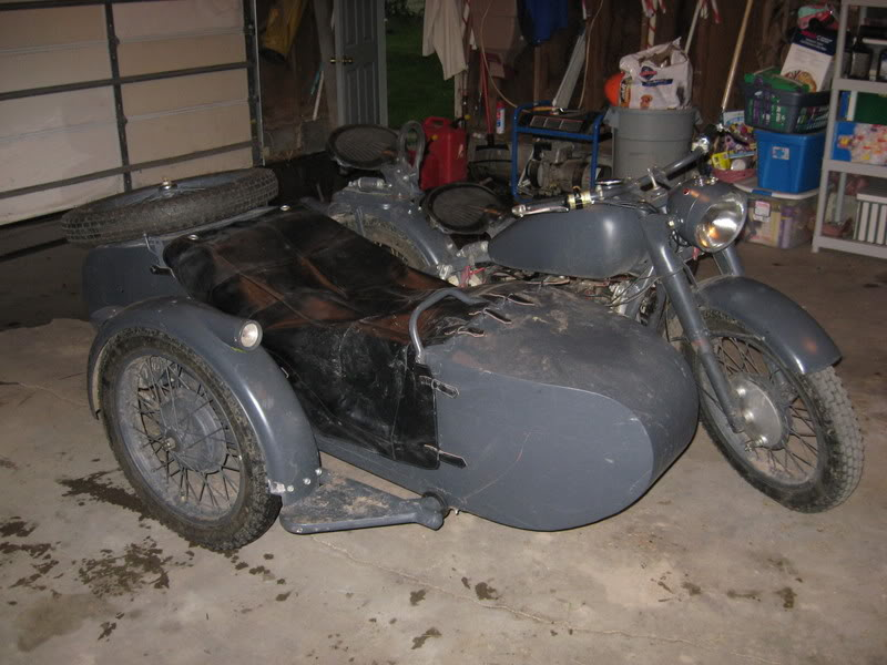 Indiana Jones and the Last Crusade motorcycle with sidecar
