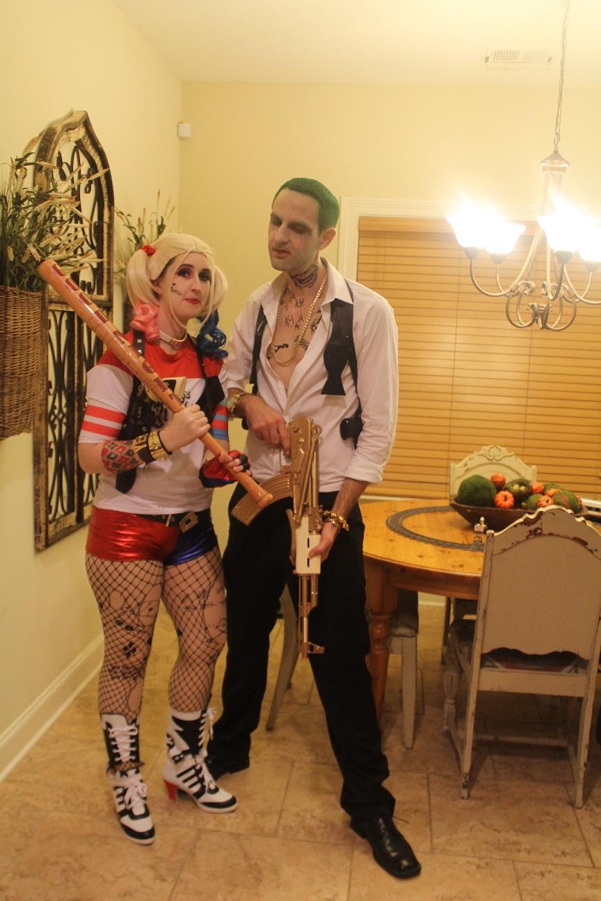 Joker From Suicide Squad Club Scene Costume My Halloween