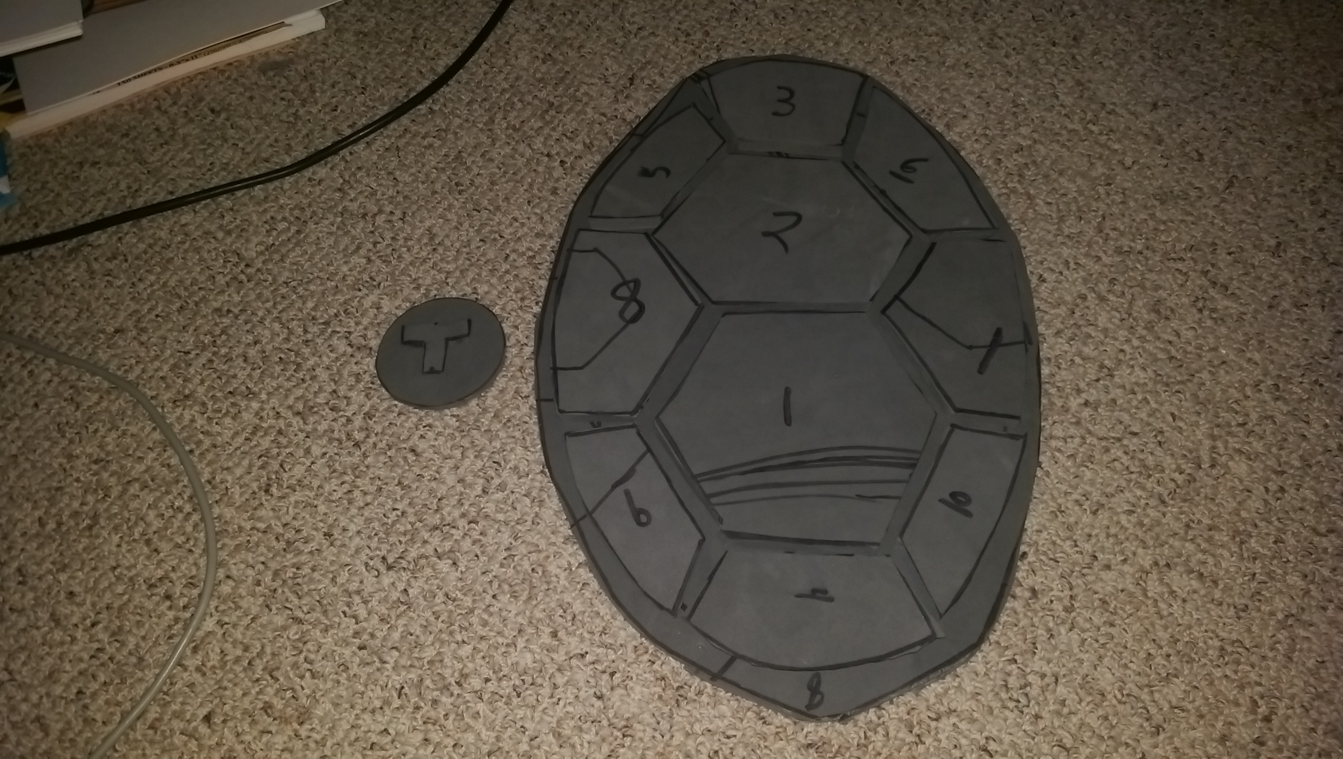 Creating A TMNTToddler Mutant Ninja Turtle Shell For Nephew