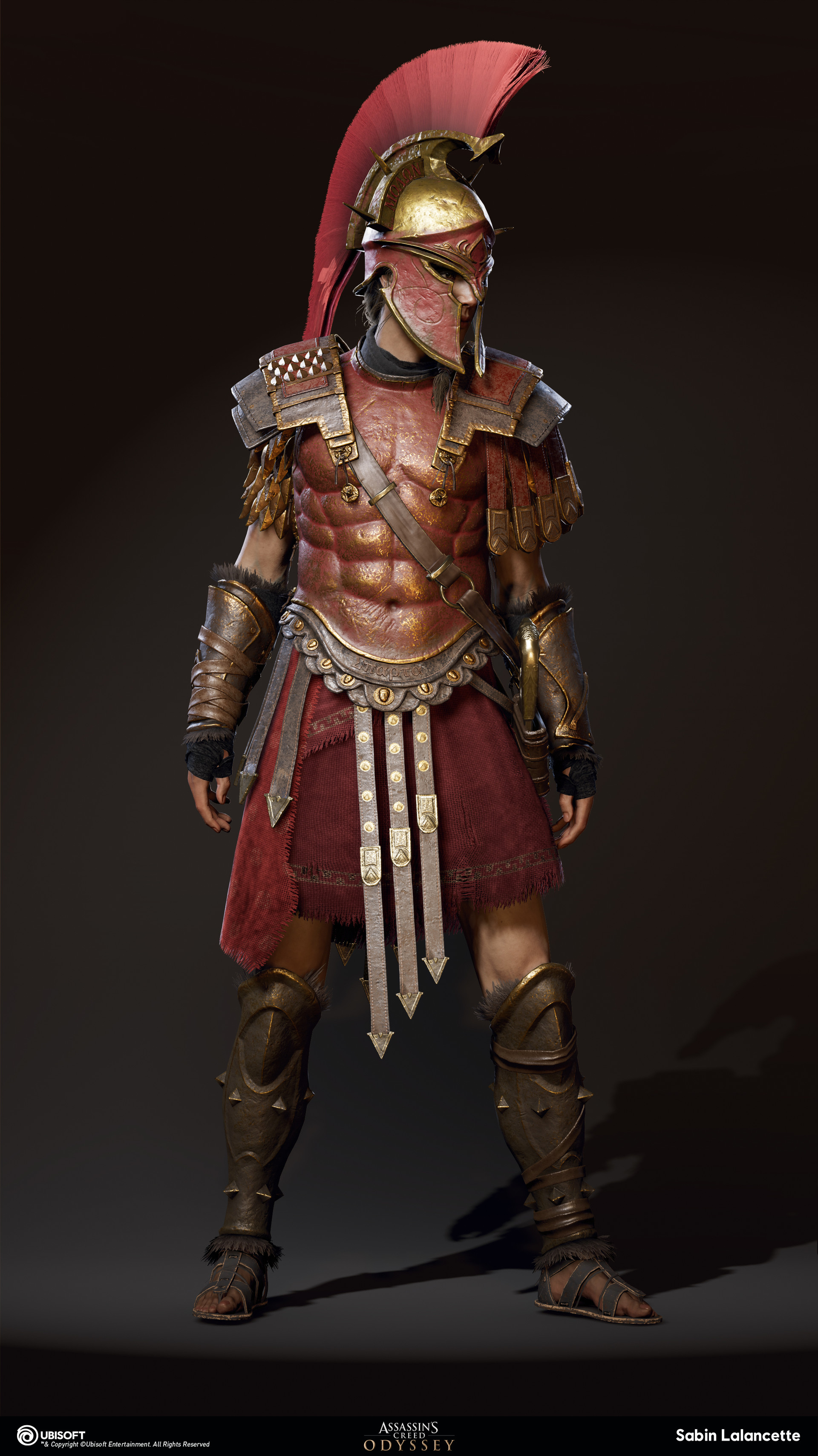 Spartan War Hero Armor Set From Assassin S Creed Odyssey Rpf Costume And Prop Maker Community