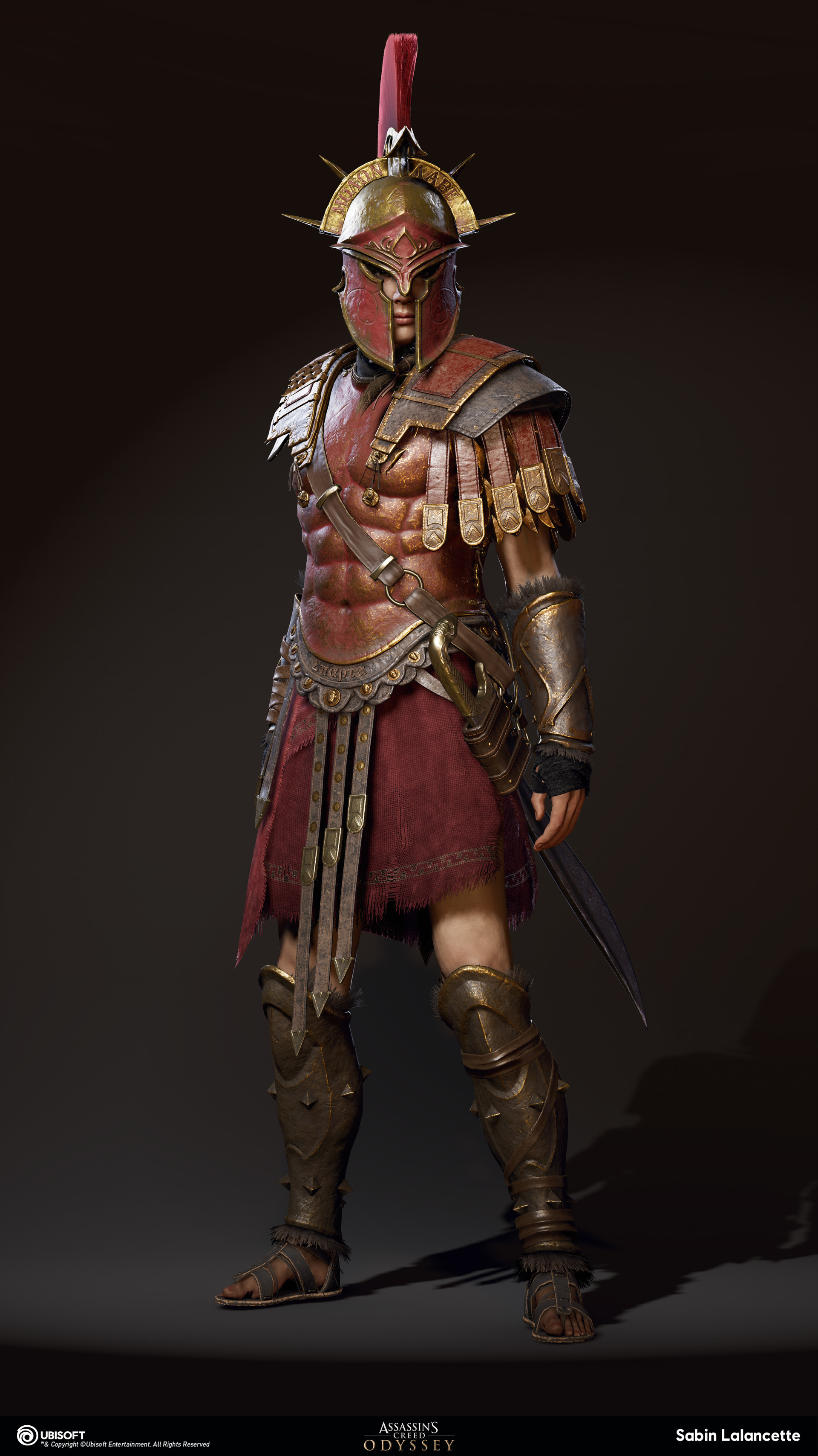 Spartan War Hero Armor Set From Assassin S Creed Odyssey Rpf