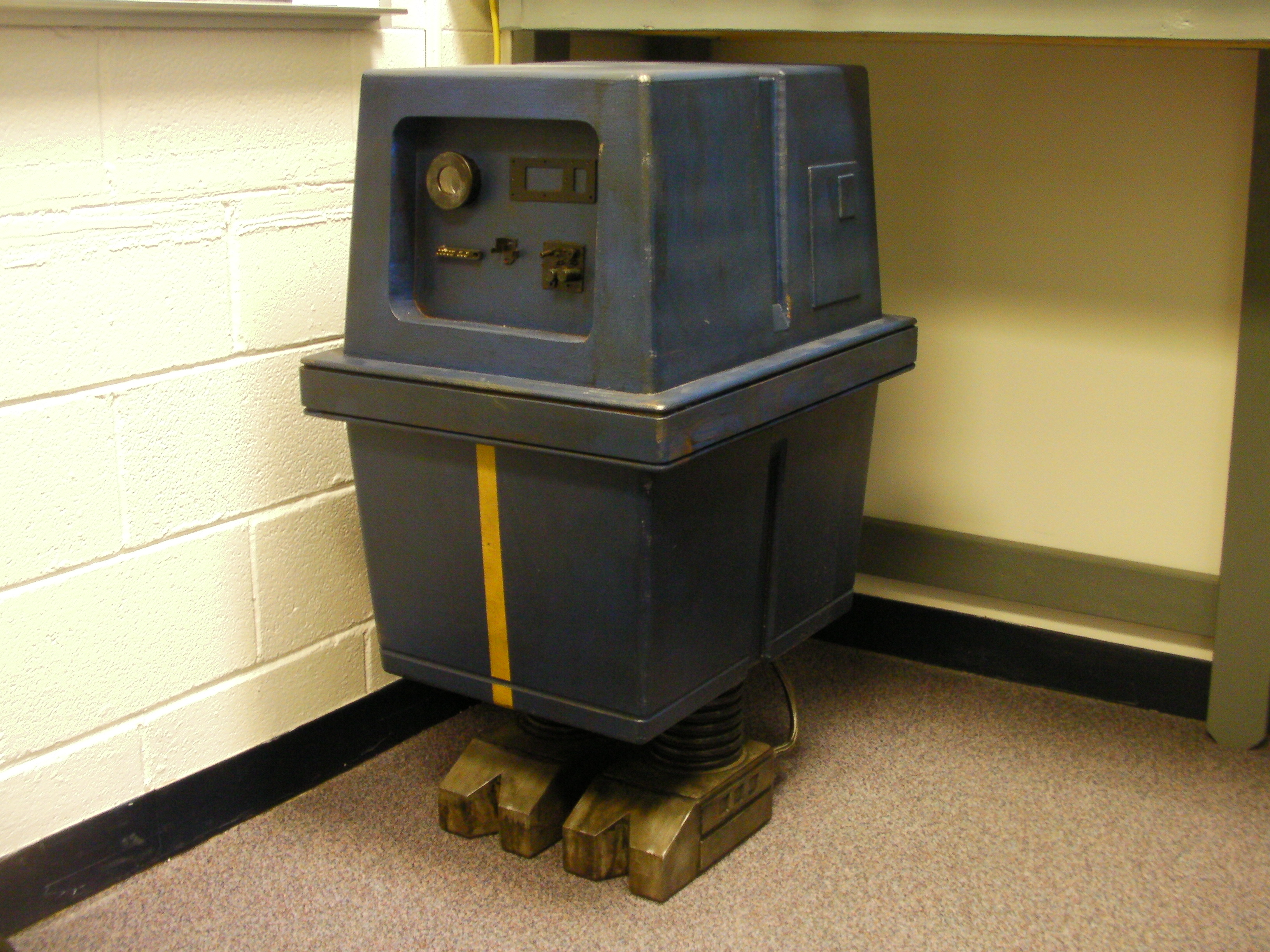 Power Gonk Droid Built Out Of Wood Rpf Costume And Prop