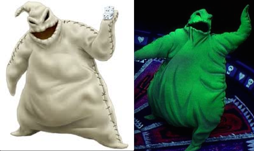 Making Oogie Boogie Costume Suggestions To Make It Glow N The Dark Rpf Costume And Prop Maker Community Full jumpsuit is softly padded and oversized with burlap texture. making oogie boogie costume