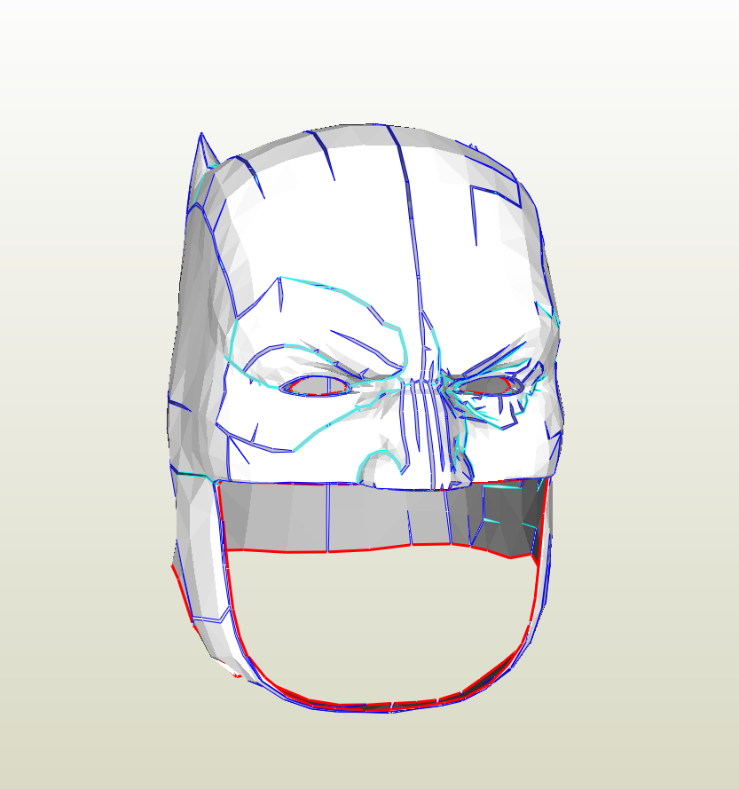 Batman pepakura files | RPF Costume and Prop Maker Community