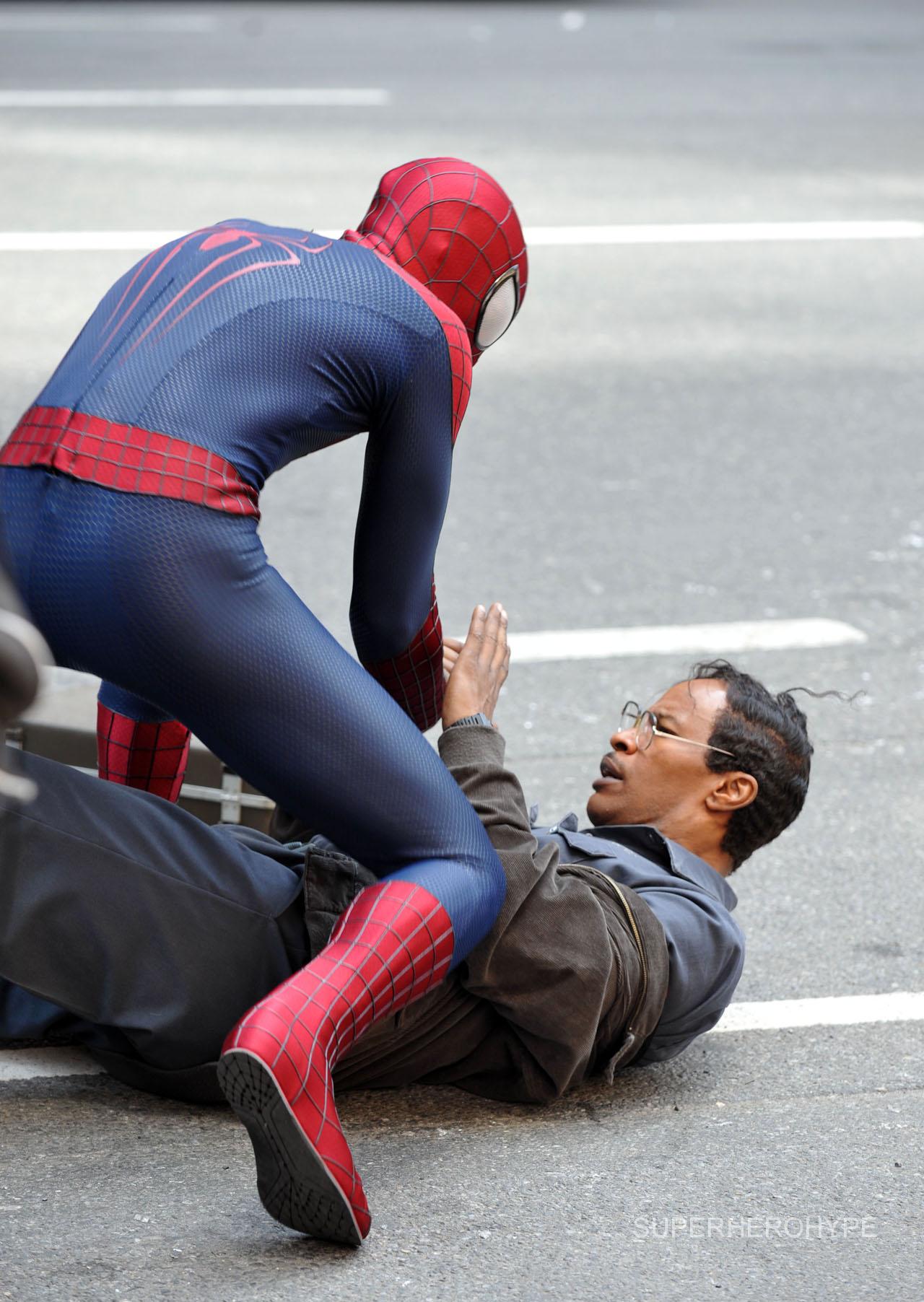 новые фото со съемок человек паук возвращение красиво