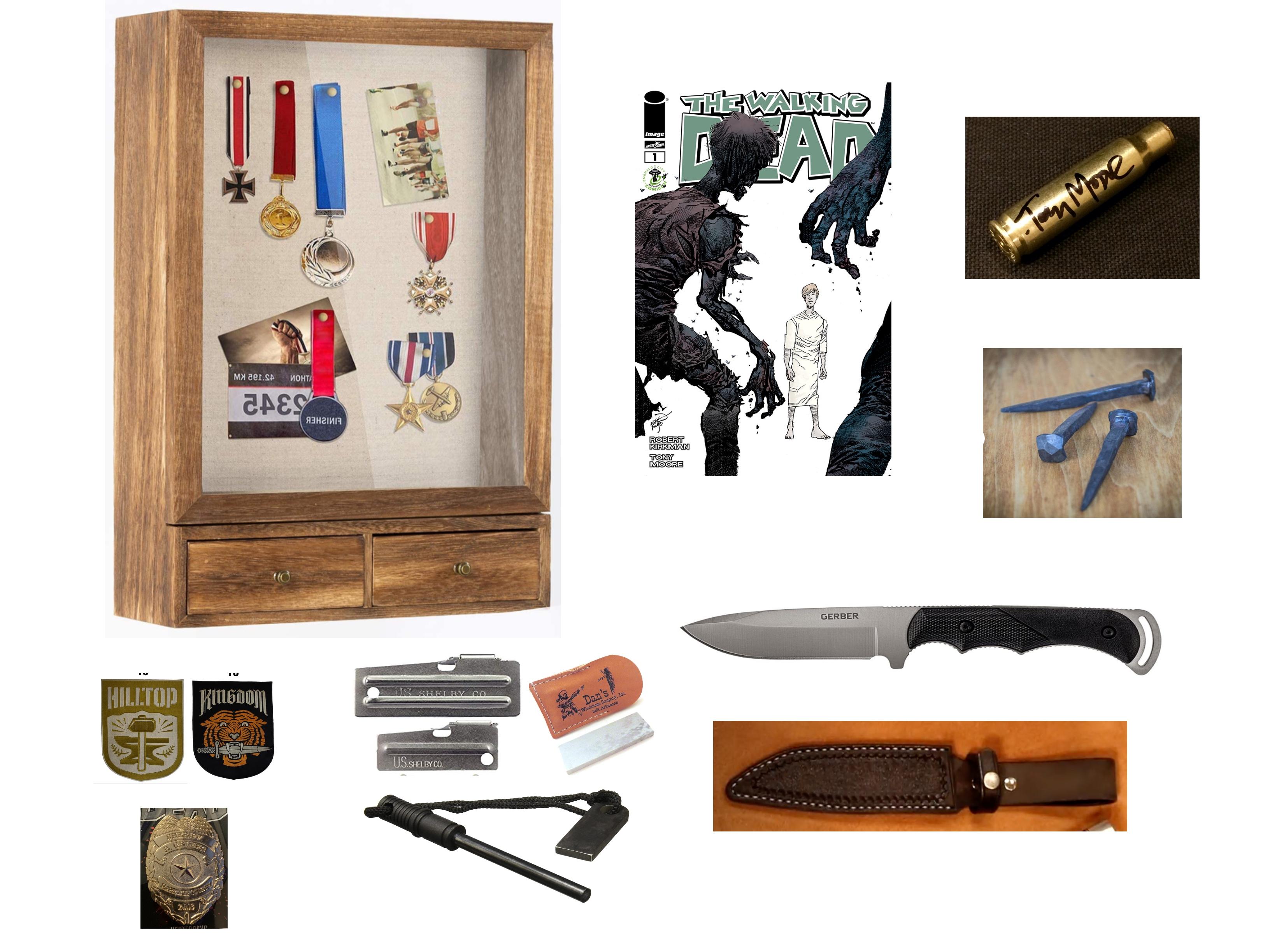 Walking Dead Shadow Box Collage.jpg