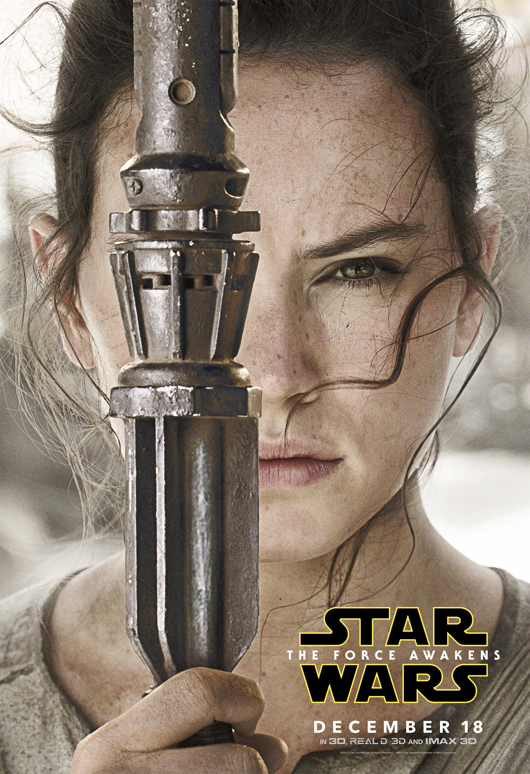 Limited Run - Rey's Quarterstaff (Star Wars: Force Awakens