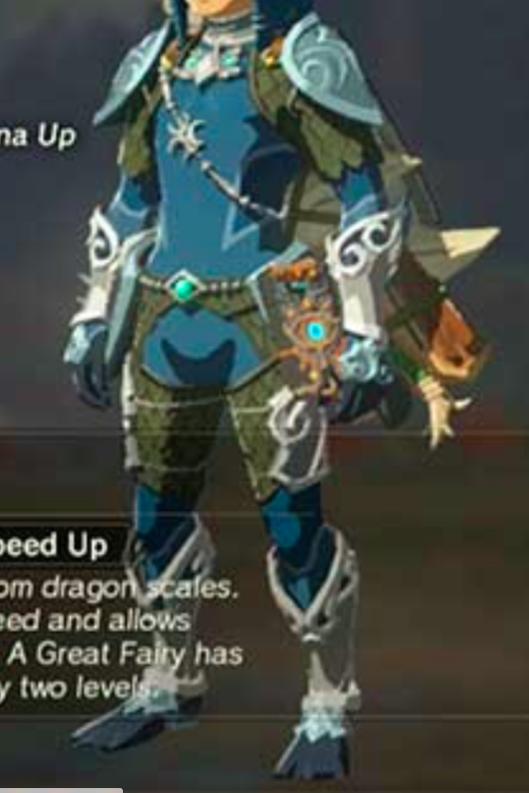 Legend of Zelda: Breath of the Wild - Zora Armor and Props