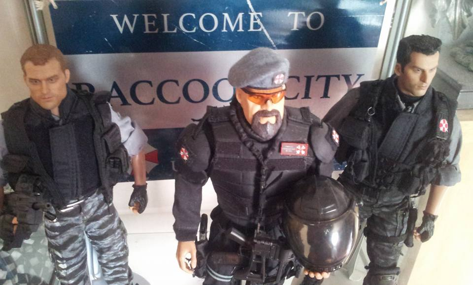 Resident Evil U B C S Display 1 6th Scale Rpf Costume And Prop