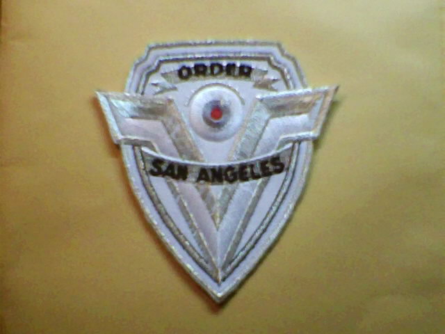 1994 demoltian man angeles badge patch