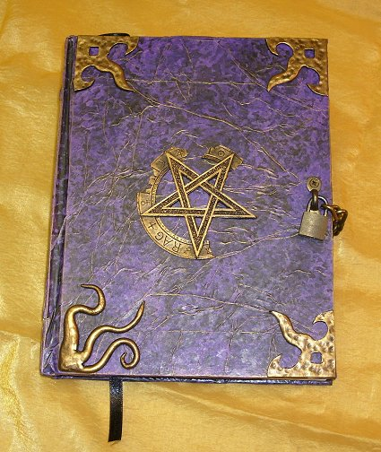 A custom blank journal commissioned for resale by shadowmanor.com.