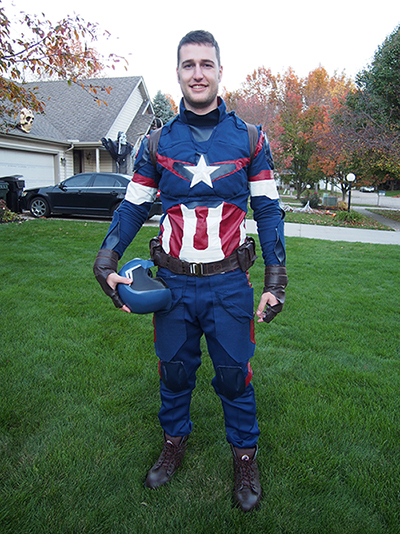 akprice44's Captain America : Age of Ultron Suit
