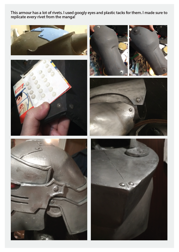 Alphonse Elric Armour build by castpixel