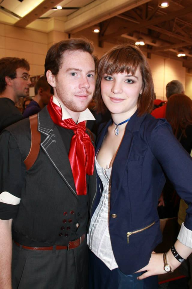 Booker and Elizabeth from Bioshock Infinite