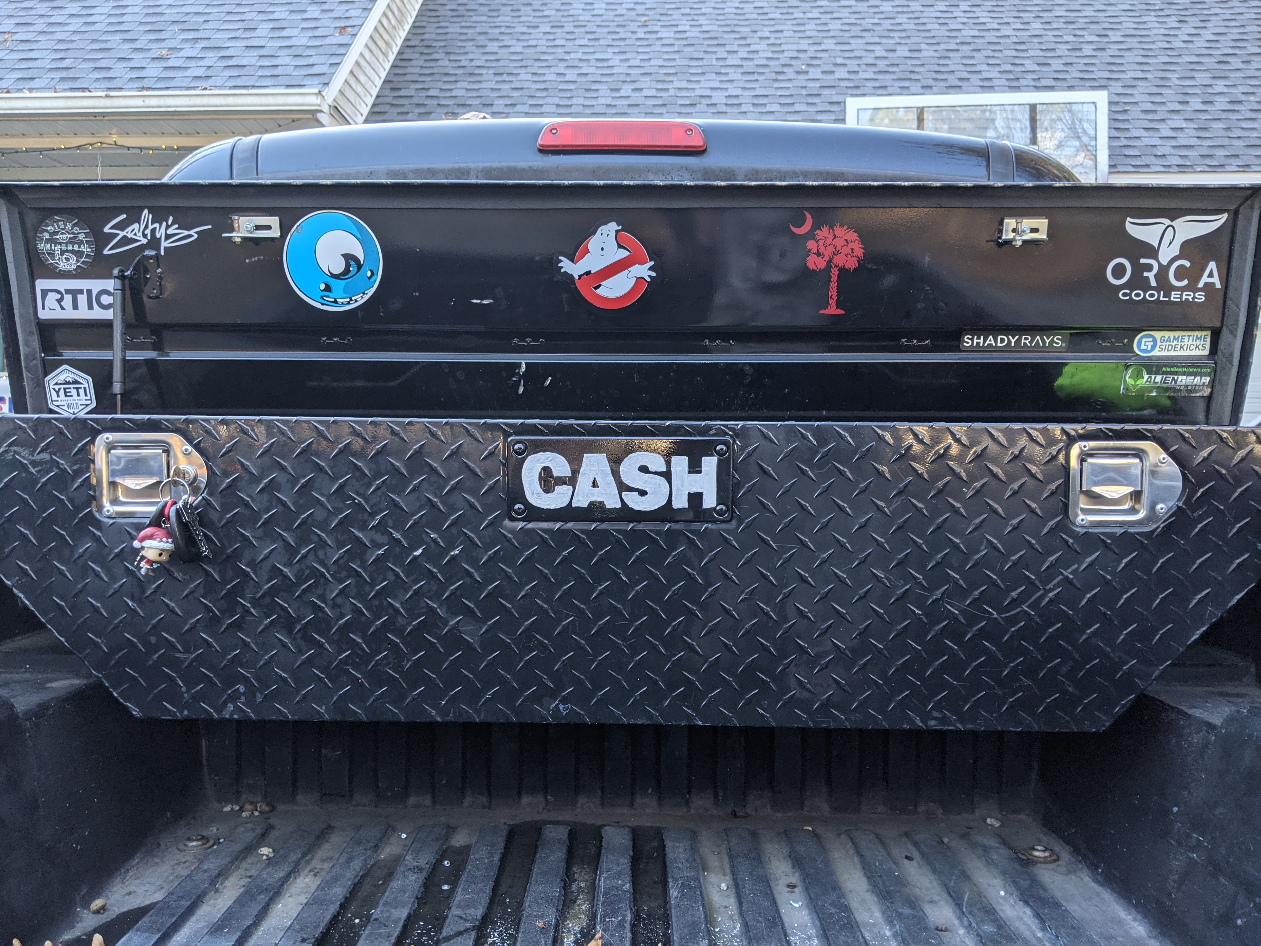CASH toolbox plate in place.