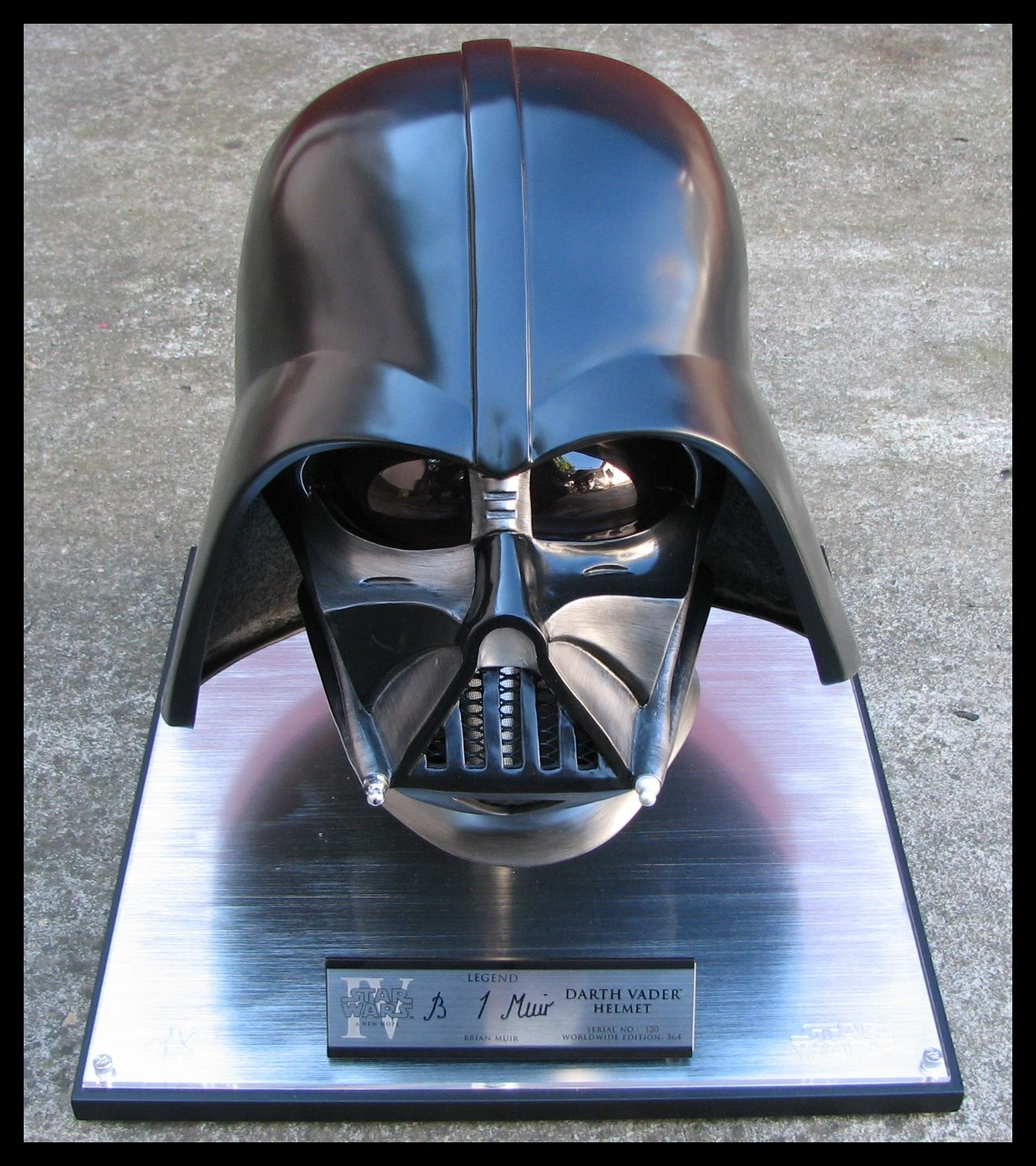 eFX Darth Vader Legend Edition helmet