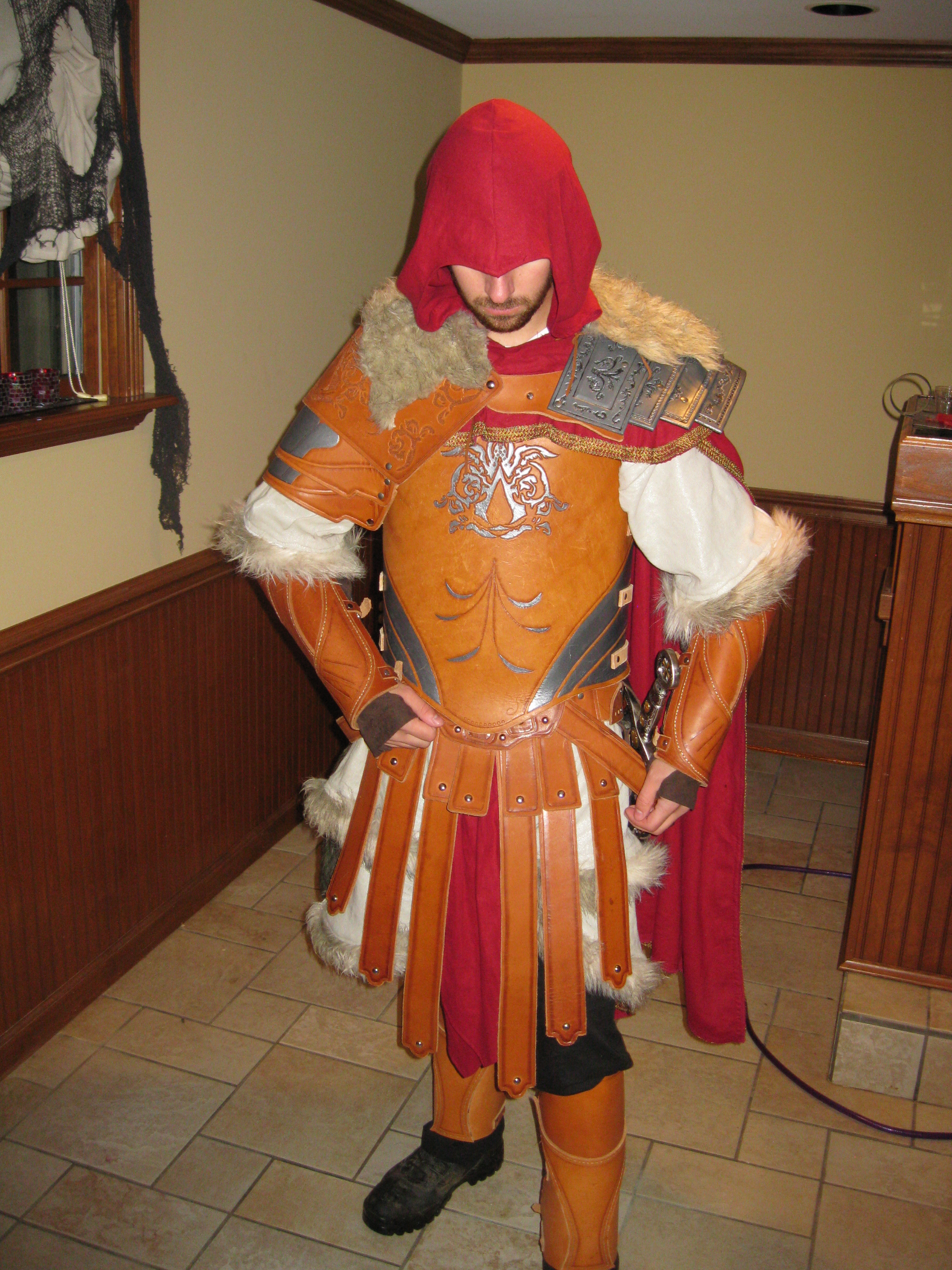 Ezio Auditore Armor Of Brutus Rpf Costume And Prop Maker Community
