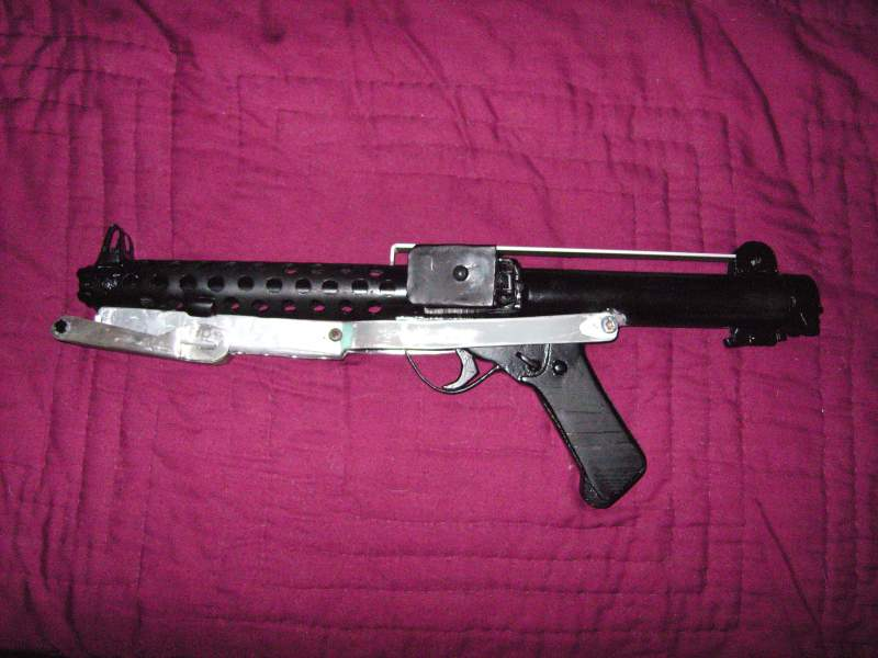 folding stock attached